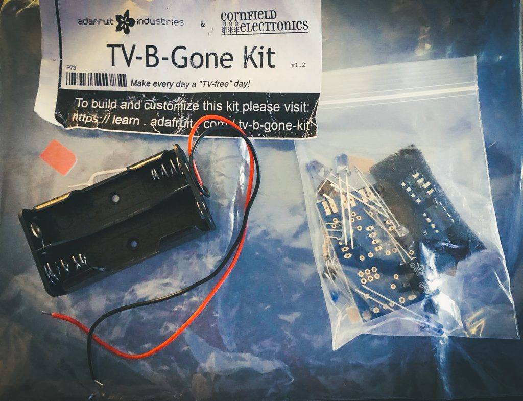 Tv-B-Gone Kit
